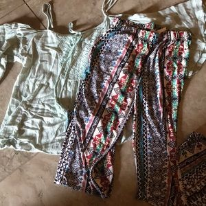 Boho outfit from three birds nest